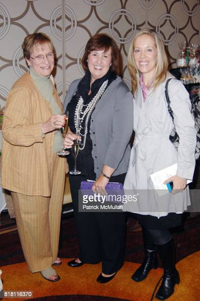 Edie Happe Kelly Chang and Margaret Otto attend The Junior League of Los Angeles 11th Annual Harvest Boutique at Ritz Carlton at LA Live on November...