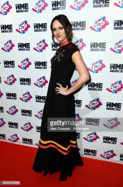 Edie Langley arriving for the VO5 NME Awards 2017 held at the O2 Brixton Academy London PRESS ASSOCIATION Photo Picture date Wednesday February 15...