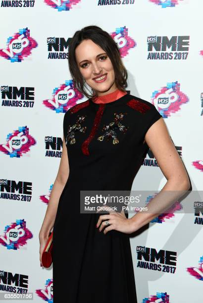 Edie Langley arriving for the VO5 NME Awards 2017 held at the O2 Brixton Academy London