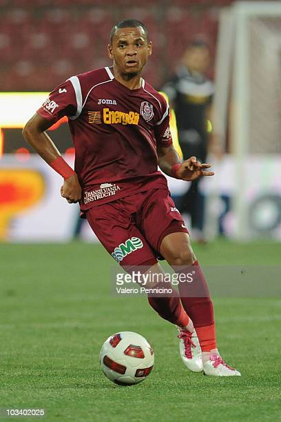 Edimar of CFR 1907 Cluj in action during the Liga 1 match between CFR 1907 Cluj and Astra Ploiesti at Constantin Radulescu Stadium on August 13 2010...