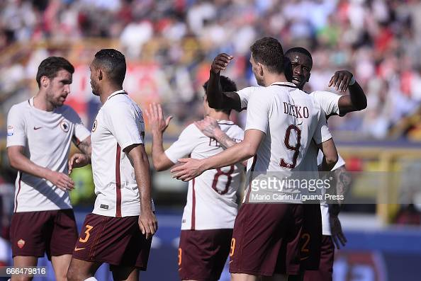 Bologna FC v AS Roma - Serie A : News Photo