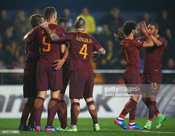 Villarreal CF v AS Roma - UEFA Europa League Round of 32: First Leg : News Photo