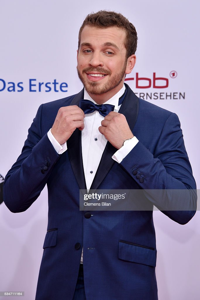 Edin Hasanovic attends the Lola - German Film Award (Deutscher Filmpreis) on May 27, 2016 in Berlin, Germany.