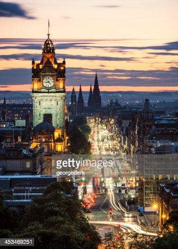 Edinburgh After Sunset