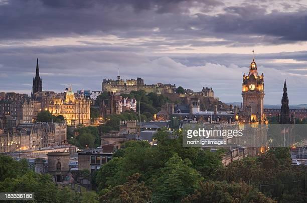 Edinburgh at dusk