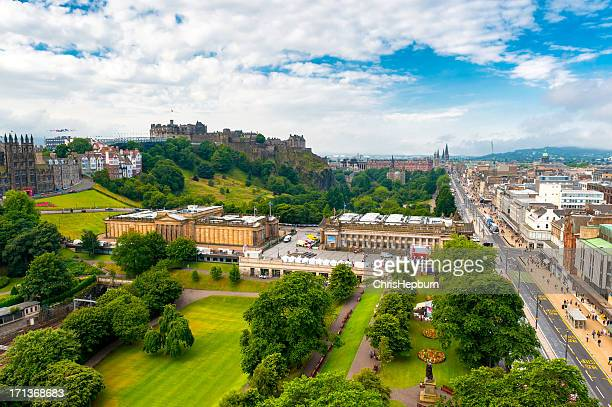 Edinburgh Cityscape, Scotland