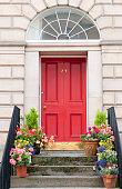Edinburgh Door Entrance