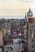 Edinburgh Festival Fringe in the Royal Mile