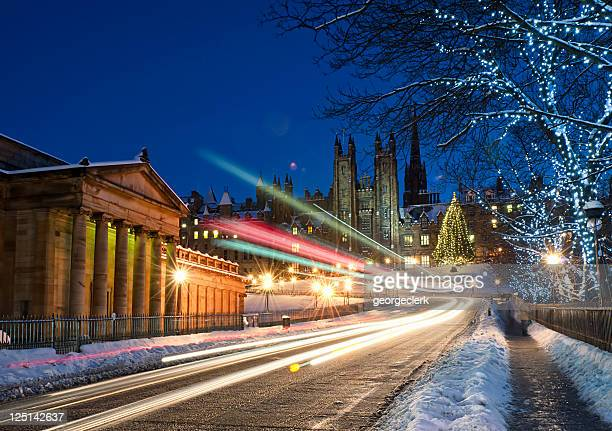Edinburgh in December Snow