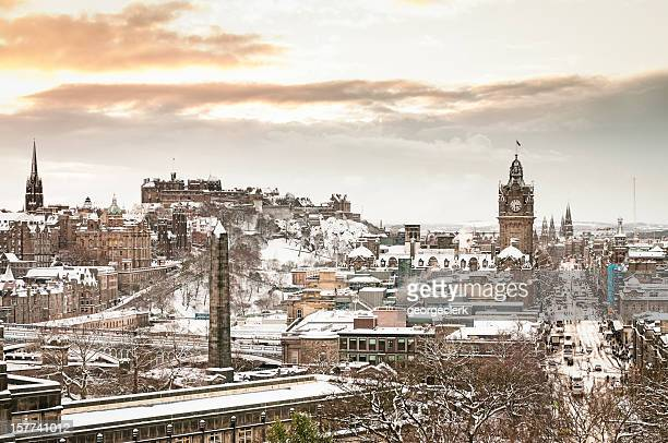 Edinburgh im Winter