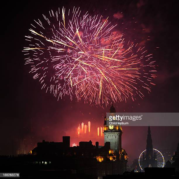 Edinburgh New Year Stock Photos And Pictures