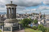 Edinburgh skyline in summer
