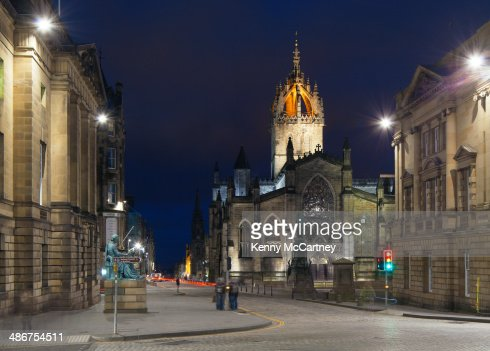 Edinburgh - St. Giles and the Royal Mile