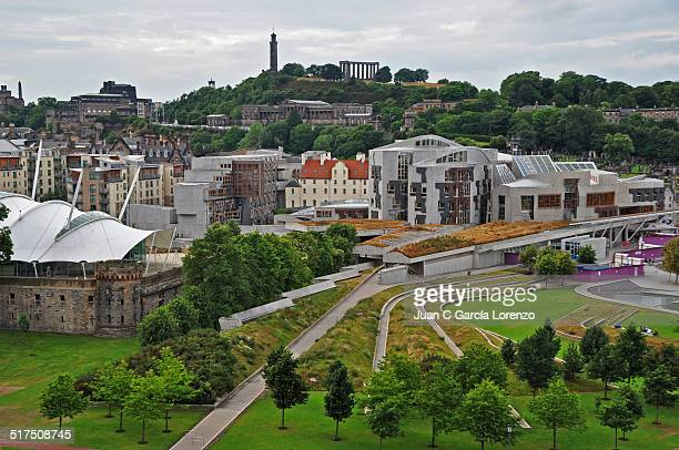 Edinburgh: the Scottish Parliament and Calton Hill