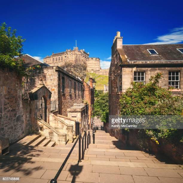 Edinburgh - The Vennel & The Castle
