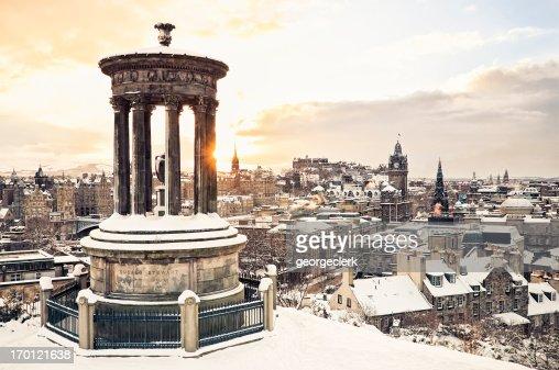 Edinburgh Under Snow