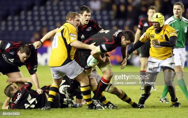 Edinburgh's Jim Hamilton in action