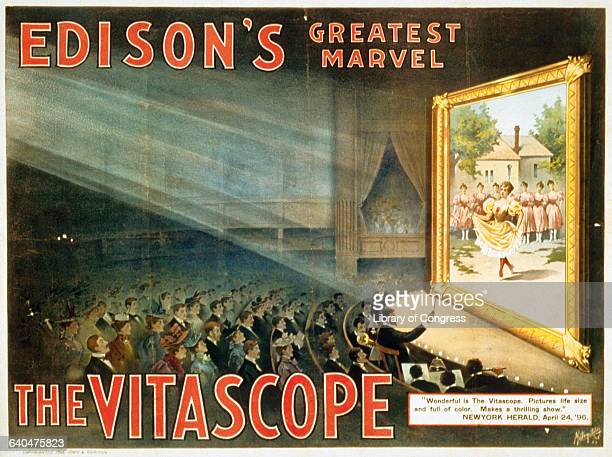 Edison's Greatest Marvel The Vitascope Advertisement