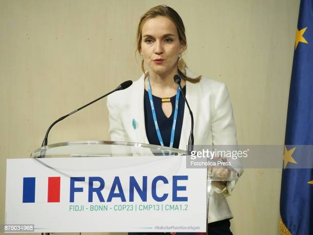 Edit Kiss Director of Business Development and Operations Althelia speaking at the United Nations Framework Convention on Climate Change UNFCCC COP23