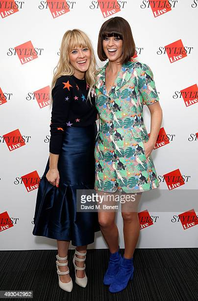 Edith Bowman and Dawn O'Porter attend day three of Stylist Magazine's first ever 'Stylist Live' event at the Business Design Centre on October 17...
