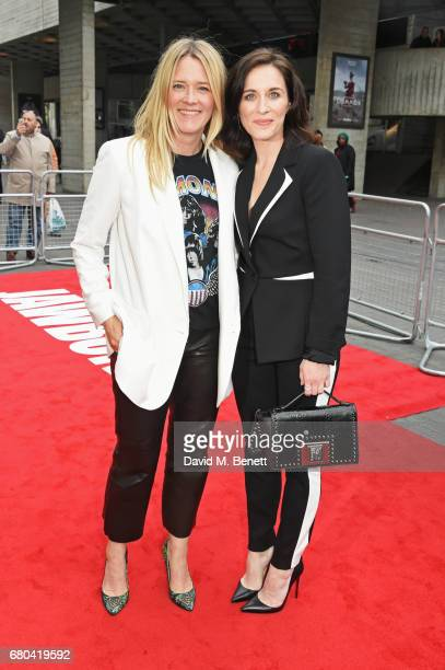 Edith Bowman and Vicky McClure attend the UK Premiere of 'Jawbone' at BFI Southbank on May 8 2017 in London United Kingdom