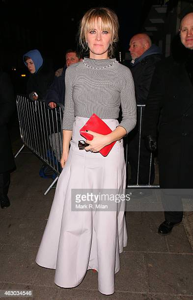 Edith Bowman at Little House on February 8 2015 in London England