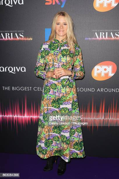Edith Bowman attending the Audio and Radio Industry Awards at the First Direct Arena in Leeds