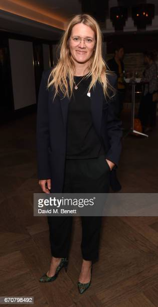 Edith Bowman attends a gala screening of 'Mindhorn' at the May Fair Hotel on April 20 2017 in London England