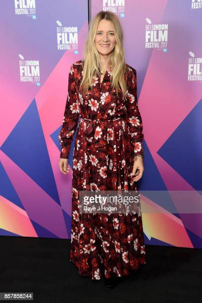 Edith Bowman attends a Screen Talk at the 61st BFI London Film Festival on October 5 2017 in London England