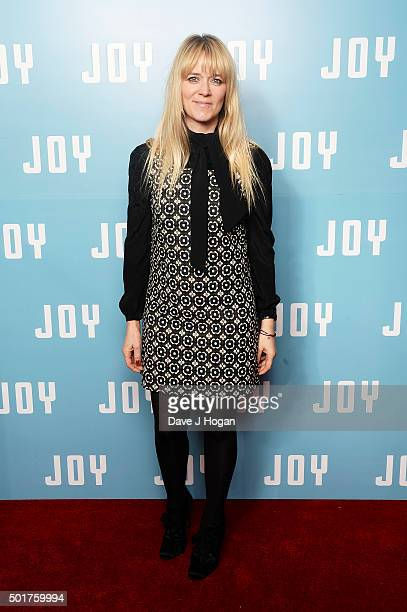 Edith Bowman attends a special screening of 'Joy' at Ham Yard Hotel on December 17 2015 in London England