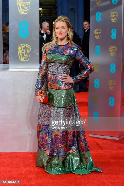 Edith Bowman attends the 70th EE British Academy Film Awards at Royal Albert Hall on February 12 2017 in London England