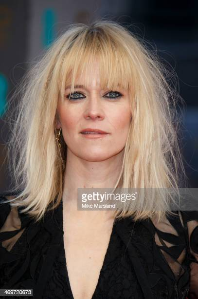 Edith Bowman attends the EE British Academy Film Awards 2014 at The Royal Opera House on February 16 2014 in London England