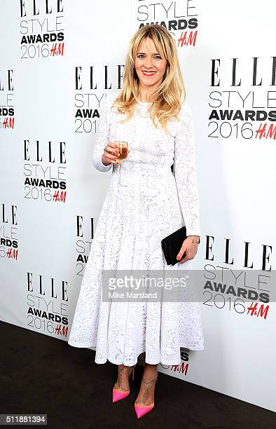 Edith Bowman attends The Elle Style Awards 2016 on February 23 2016 in London England