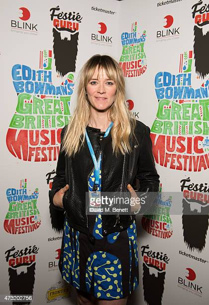 Edith Bowman attends the launch of Edith Bowman's new book 'Great British Music Festivals' in association with Ticketmaster Festie Guru at The Stag...