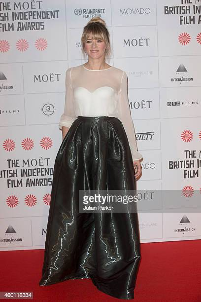 Edith Bowman attends the Moet British Independent Film Awards at Old Billingsgate Market on December 7 2014 in London England
