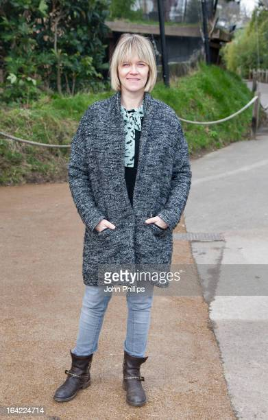 Edith Bowman attends the opening of ZSL London Zoo's new exhibit which features critically endangered Sumatran tigers at London Zoo on March 21 2013...