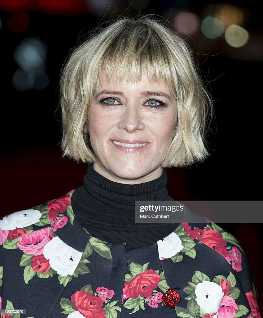 Edith Bowman attends the World Premiere of 'Gambit' at Empire Leicester Square on November 7 2012 in London England