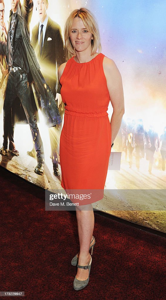 Edith Bowman attends the World Premiere of 'The World's End' at Empire Leicester Square on July 10, 2013 in London, England.