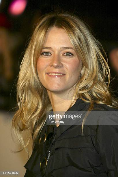 Edith Bowman during UK Hall of Fame November 16 2005 at Alexandra Palace in London Great Britain