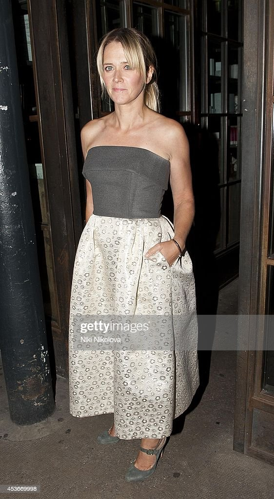 <a gi-track='captionPersonalityLinkClicked' href=/galleries/search?phrase=Edith+Bowman&family=editorial&specificpeople=209427 ng-click='$event.stopPropagation()'>Edith Bowman</a> is seen arriving at Shorditch House on August 15, 2014 in London, England.