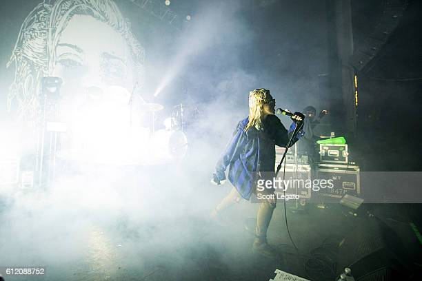 Edith Frances of Crystal Castles performs at Majestic Theater on October 2 2016 in Detroit Michigan