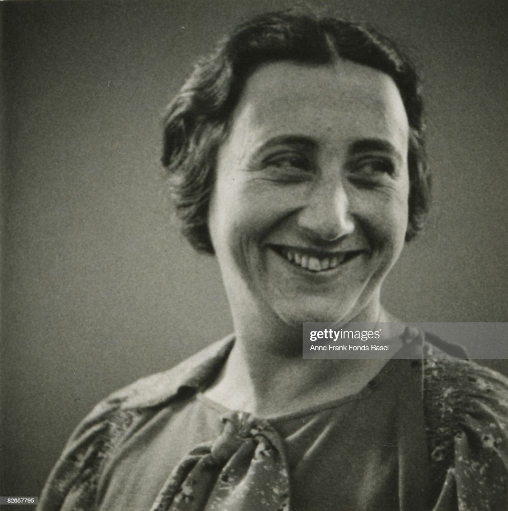 Edith Frank-Hollander (1900 - 1945), the mother of Anne Frank, circa 1935.