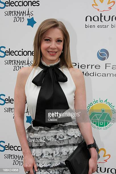 Edith Gonzalez poses during the Supermamas Awards 2013 on April 09 2013 in Mexico City Mexico