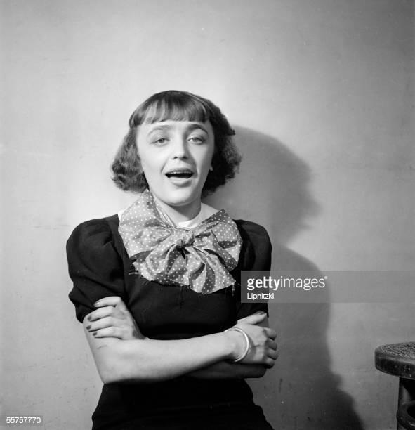 Edith Piaf French singer France 1936 LIP10046005