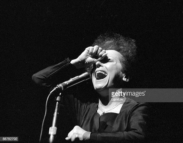 Edith Piaf French singer Paris Olympia in January 1961 LIP30313205
