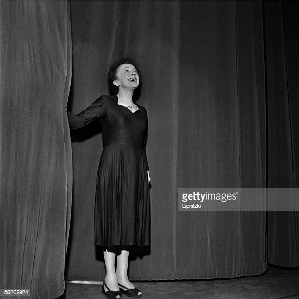 Edith Piaf French singer Paris Olympia January 1961
