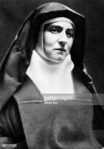 Edith Stein Edith Stein Philosopher Nun Martyr Germany Saint Teresia Benedicta of the Cross Portrait of the nun Vintage property of ullstein bild