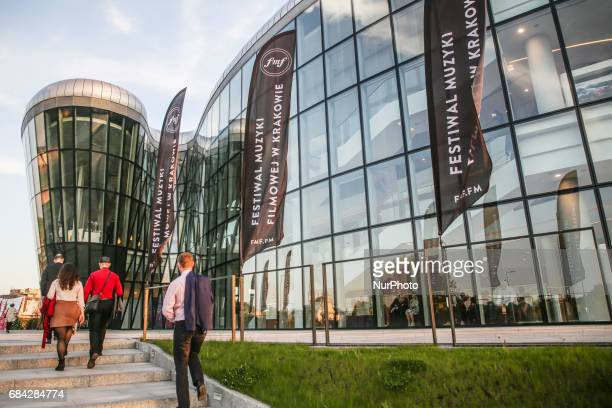 10 edition of the annual Film Music Festival in ICE Congress Centre in Krakow Poland 17 May 2017 Performed by leading musicians and orchestras in...