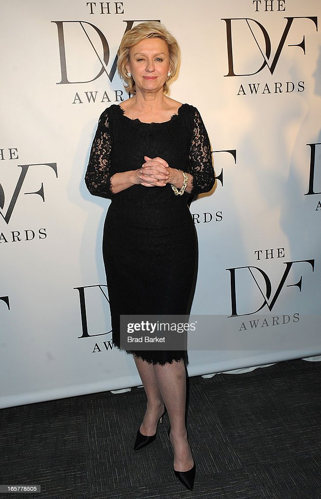 Editor and Chief of Newsweek and The Daily Beast Tina Brown attends 2013 DVF Awards at United Nations on April 5, 2013 in New York City.