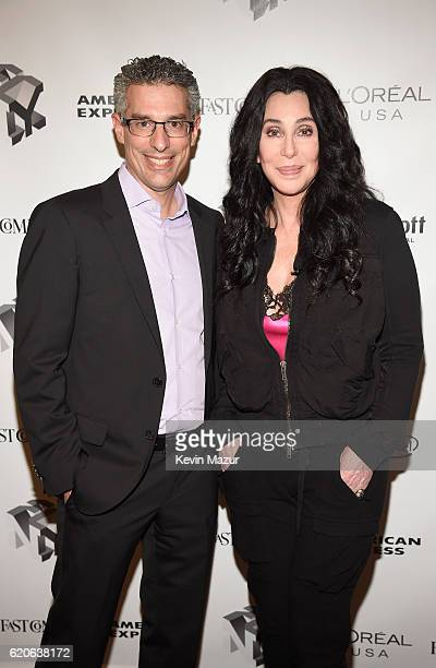 Editor and Managing Director of Fast Company Robert Safian and Singer and Actress Cher attend the Fast Company Innovation Festival 2016 Cher Doreen...